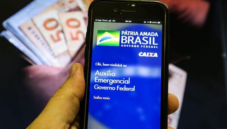 Caixa conclui pagamento da quarta parcela do auxílio emergencial (Crédito: Marcello Casal Jr./Agência Brasil)