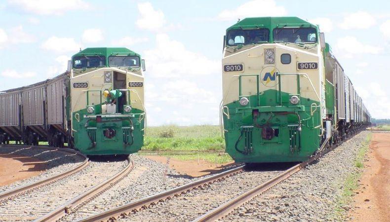 Governador assina contrato e obras da 1ª ferrovia começa em 2022 (Crédito: Reprodução)