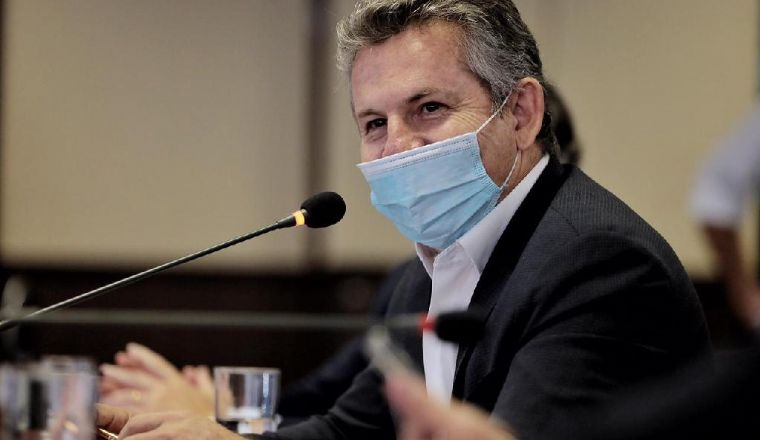 """Mauro Mendes diz haver """"algo estranho"""" na prefeitura e defende investigações (Crédito: Mayke Toscano)"""