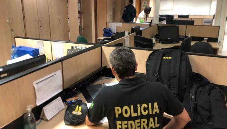 PF faz operação contra crime organizado na Saúde de Cuiabá (Crédito: PFMT)