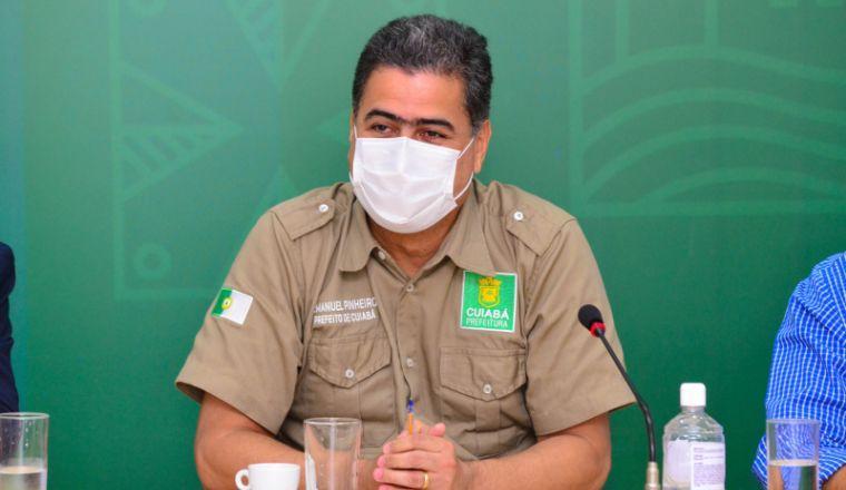 Prefeito de Cuiabá encaminha projeto que prevê multa de até R$ 60 mil para quem descumprir decreto (Crédito: Assessoria)