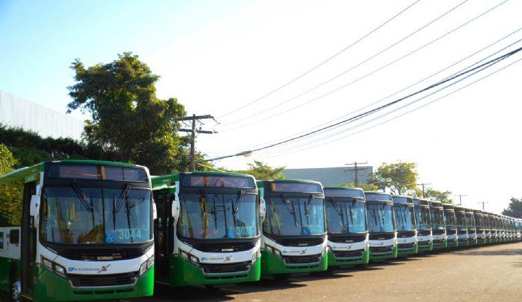 Prefeitura adia para terça entrega de 144 novos ônibus (Crédito: Reprodução)