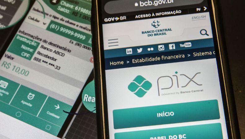 Banco Central abre consultas para saques e trocos via Pix (Crédito: Marcelo Casal Jr)
