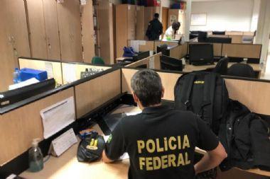 PF faz operação contra crime organizado na Saúde de Cuiabá